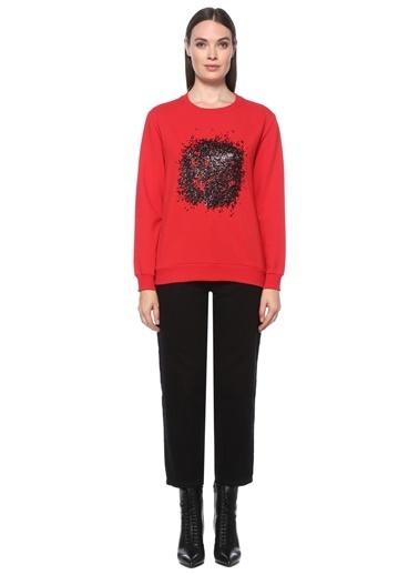 NetWork Sweatshirt Kırmızı